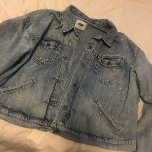 Old navy denim jacket 💙